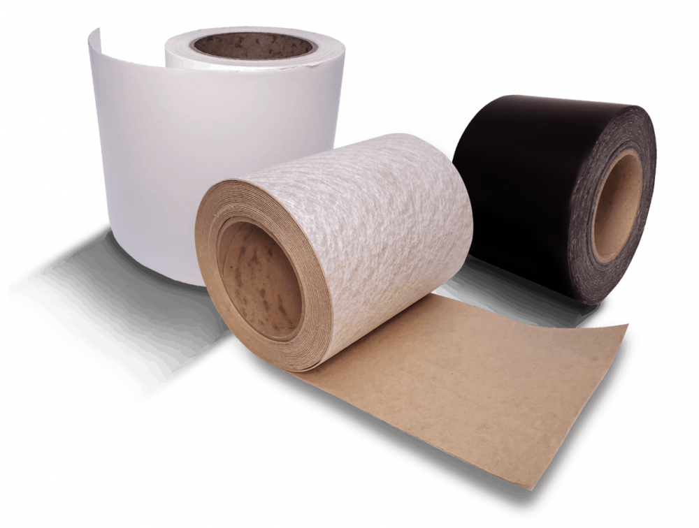 Trio of Black, White, and Fabric variants of QuickSeal Tapes by Seal Trust